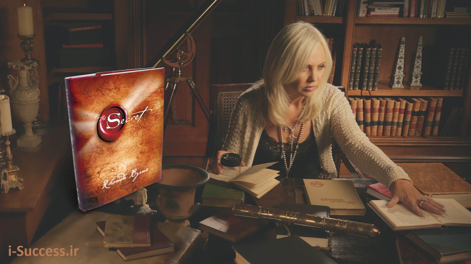 راندا برن در مستند راز 3